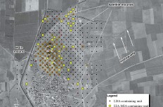 Figure 2. Map of the 2019 intensive survey grid carried out by the Türkmen-Karahöyük Intensive Survey Project, showing the extent of the site during the Late Bronze and Midde Iron Ages.